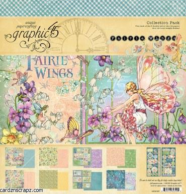 Paper Pk 12x12 G45 Fairie Wing