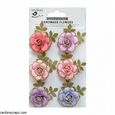 LittleBirdie Fairy Sparkle 6pcs Pixie Rose