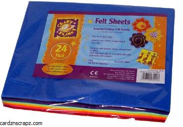 Felt Assorted 24 Pack