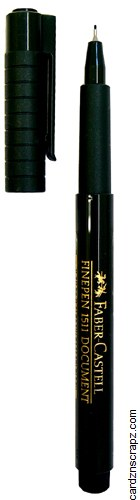 Faber Castell Finepen 1511 Black