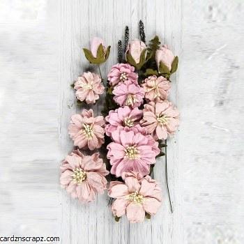 Flowers Little Birdie Natalie Pearl Pink