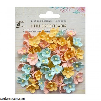 Flowers Little Birdie Paula Pastel 60pk