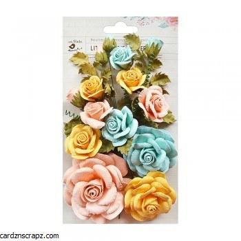 Flowers Little Birdie Rosalind Pastel 21pk