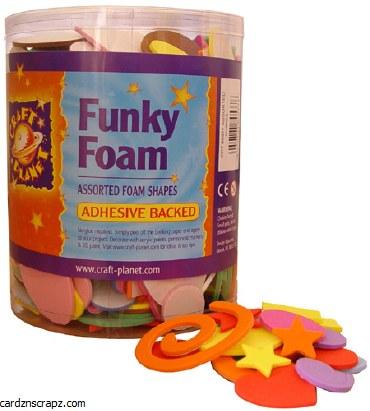 Foam Tub Assorted Shapes
