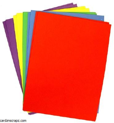 """Foam Sheet Assorted 10 Pack 9x12"""" 2mm"""