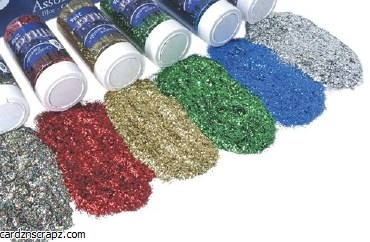Glitter Pot 250gm Med Green