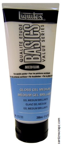 Liquitex Basic 200ml Gloss Gel Med