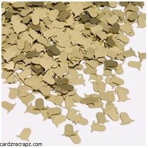 Confetti Bells Gilt Gold 14gm