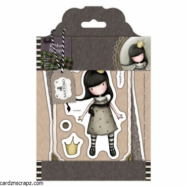 Gorjuss Rubber Stamps Santoro Tweed My