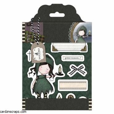 Gorjuss Rubber Stamps Santoro Tweed Ni