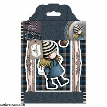 Gorjuss Rubber Stamps Santoro Tweed Th