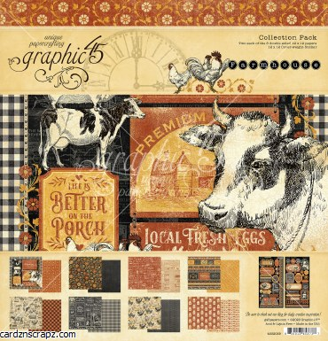 Paper Pk 12x12 G45 Farmhouse
