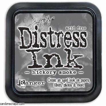 Distress Ink Hickory Smoke