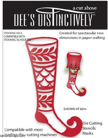 Dee's Dies Stocking No.3