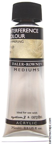 Daler Rowney 75ml Interference Gold