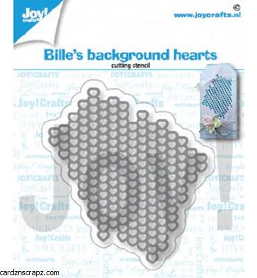 JoyCrafts Die Bille's Heart Background