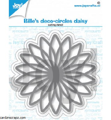 JoyCrafts Die Bille Deco Circles Daisy