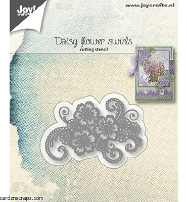 Joy Crafts Daisy Flower Swirls