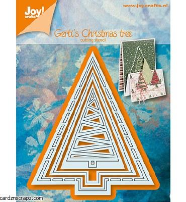 Joy Crafts Die Christmas Tree 80x93mm
