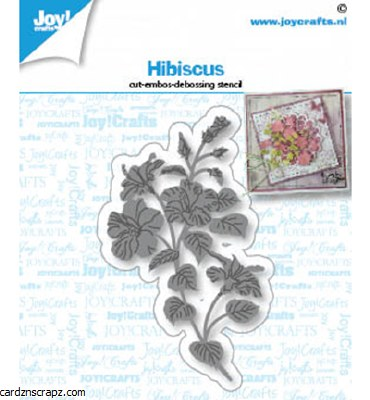 JoyCrafts Die Hibiscus Flower