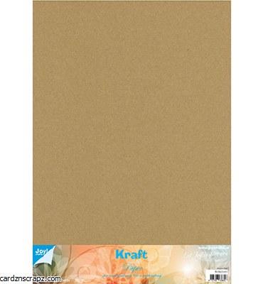 Kraft Card 300gm 35x50cm 10pk