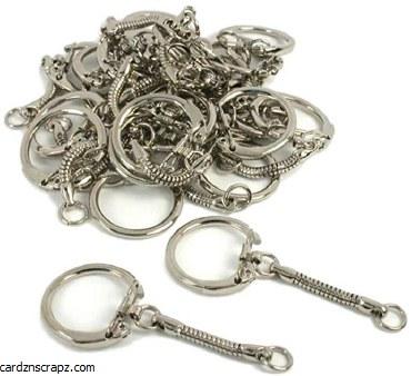 Jewellery Key Ring Ø25mm 12pk