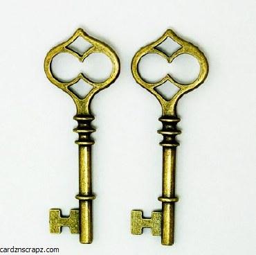 CAS Embellies Keys #2 5pk