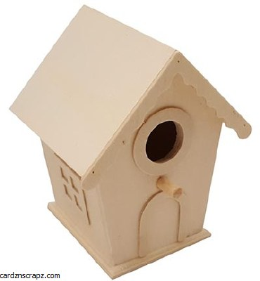 Bird House Rectangular 8440