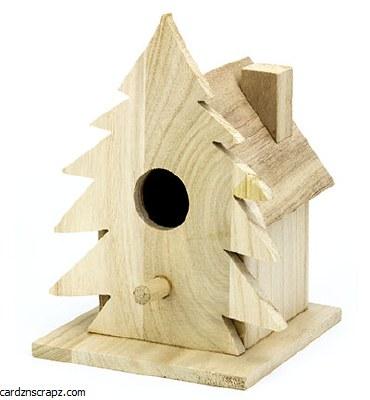 Bird House Christmas 8467^