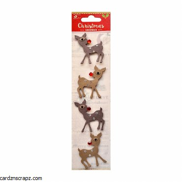 LittleBirdie Christmas Reindeer 4pc