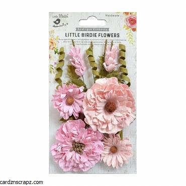 LittleBirdie Elsie Pearl Pink 10Pc Little Birdie