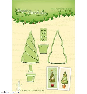 Leane Creatief Die Paper Patch Die Trees