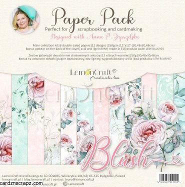 Paper Pk 12x12 LC Blush