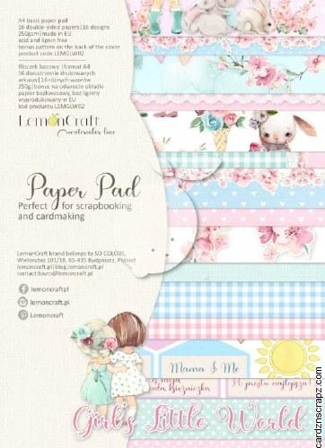 Paper Pk A4 Lemoncraft Girl's Little World