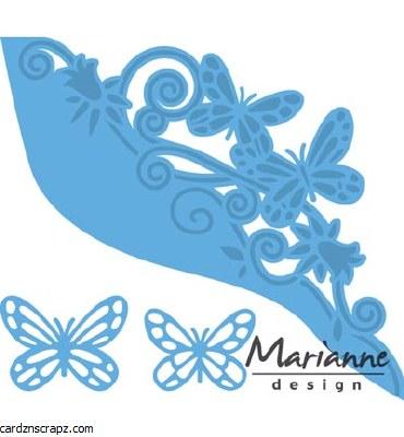 Marianne Design Butterfly Border