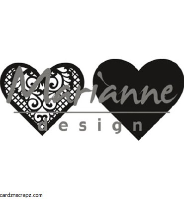 Marianne Design Lace Heart