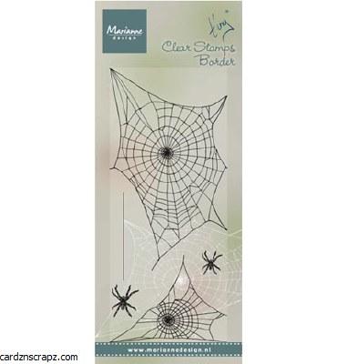 Marianne Design Tiny's Border: Spider Web