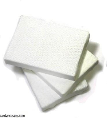Canvas Mini Asst 20pk - 7x5 & 6x4cm