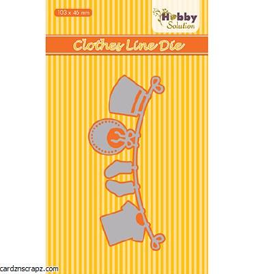Nellie's Choice Die Baby Range Clothesline 103x46mm