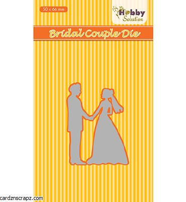 Nellie's Choice Die Bridal Couple 50x66mm