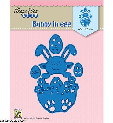Nellie's Choice Die Bunny in Egg