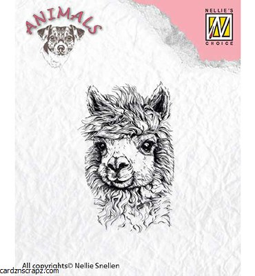 Nellie's Choice Clear Stamps Lama