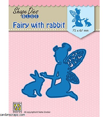Nellie's Choice Die Fairy With Rabbit