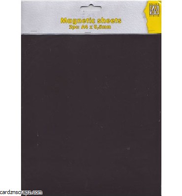 Magnetic Sheet A4 0.5mm 2pk