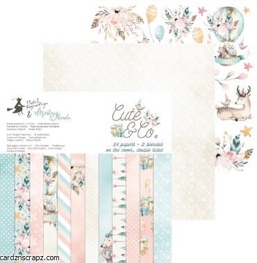 "Paper Pk 12x12"" Piatek Cute & Co"