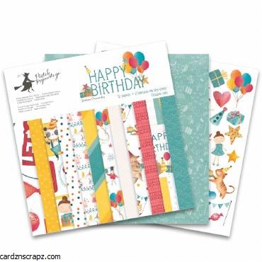 Paper Pk 12x12 PT Happy Birthday