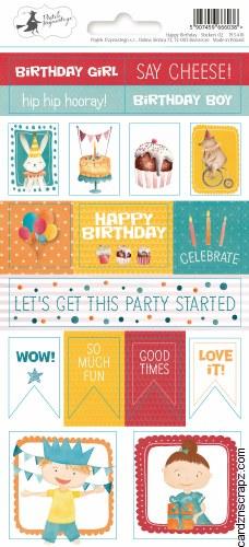 Stickers PT Happy Birthday #2