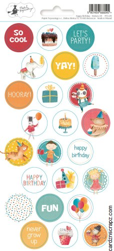 Stickers PT Happy Birthday #3