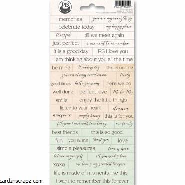 Stickers PT Till We Meet Words