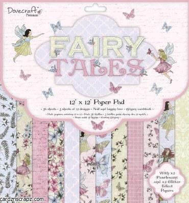 Paper Pk 12x12 Dovecraft Fairy Dust